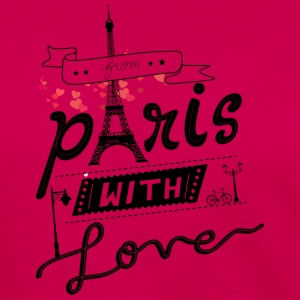 from paris with love - Women's Premium Long Sleeve T-Shirt
