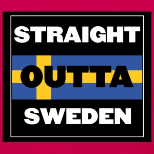Straight Outta Sweden - Women's Premium Long Sleeve T-Shirt