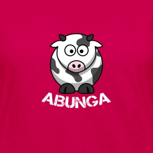 Cow-Abunga - Women's Premium Long Sleeve T-Shirt