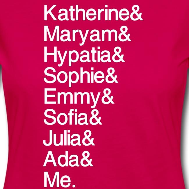 Women in Math & Me (at bottom)
