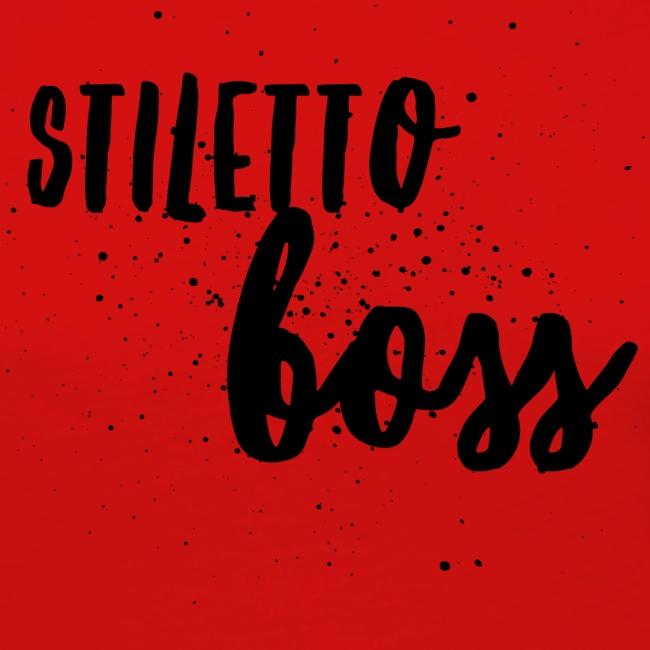 StilettoBoss Low-Blk