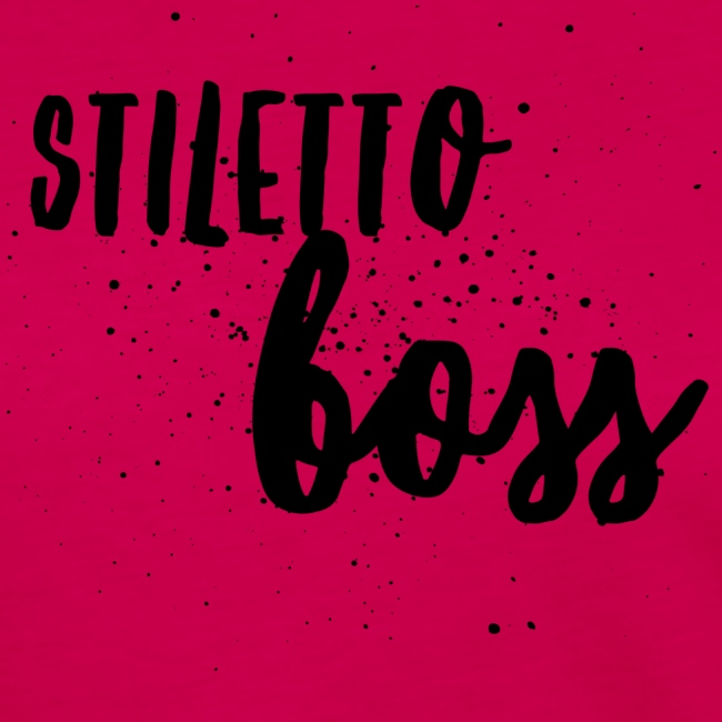 StilettoBoss Low-Blk