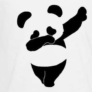 Dab Life Emoticon Dance Panda Funny - Kids' Premium Long Sleeve T-Shirt