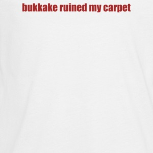 bukkake ruined my carpet - Kids' Premium Long Sleeve T-Shirt