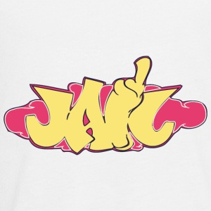 jah_graffiti_yellow - Kids' Premium Long Sleeve T-Shirt