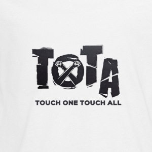 Touch One Touch All original logo - Kids' Premium Long Sleeve T-Shirt