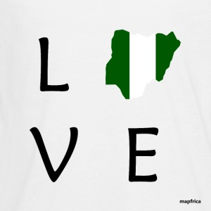 Nigeria Love - Kids' Premium Long Sleeve T-Shirt