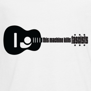 Music kills Fascism - Kids' Premium Long Sleeve T-Shirt