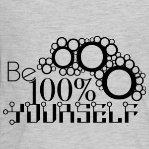 Be 100% Yourself - Kids' Premium Long Sleeve T-Shirt