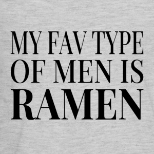 My Fav Type Of Men Is Ramen - Kids' Premium Long Sleeve T-Shirt