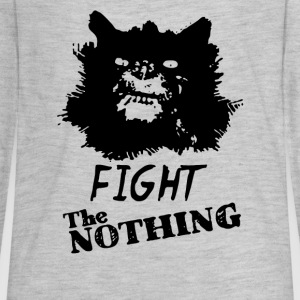 Fight The Nothing - Kids' Premium Long Sleeve T-Shirt