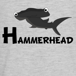 Cartoon Hammerhead Shark - Kids' Premium Long Sleeve T-Shirt