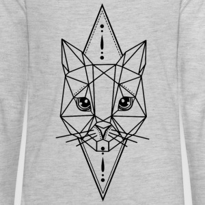 Cat Geometric - Kids' Premium Long Sleeve T-Shirt
