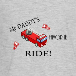 My Daddy is a firefighter - Kids' Premium Long Sleeve T-Shirt