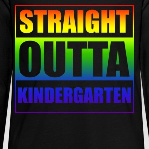 Straight outta Kindergarten - Kids' Premium Long Sleeve T-Shirt
