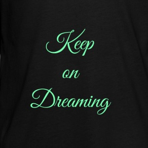 Keep on Dreaming in mint - Kids' Premium Long Sleeve T-Shirt
