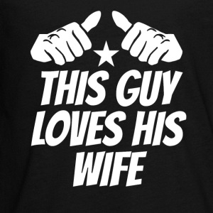 This Guy Loves His Wife - Kids' Premium Long Sleeve T-Shirt