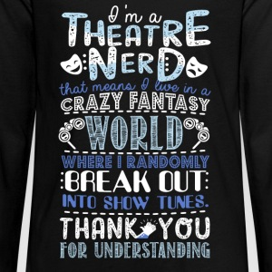 Theatre Nerd - Kids' Premium Long Sleeve T-Shirt