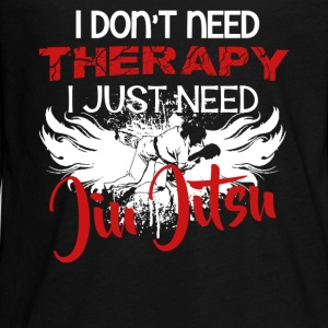 Jiu Jitsu Therapy Shirt - Kids' Premium Long Sleeve T-Shirt