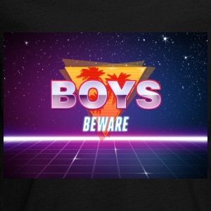 Boys Beware - RETRO - Kids' Premium Long Sleeve T-Shirt