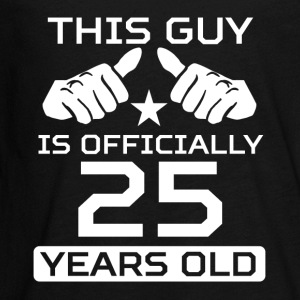 This Guy Is 25 Years Funny 25th Birthday - Kids' Premium Long Sleeve T-Shirt