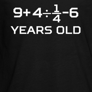 19 Years Old Algebra Equation 19th Birthday - Kids' Premium Long Sleeve T-Shirt