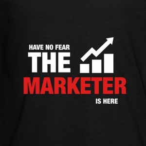 Have No Fear The Marketer Is Here - Kids' Premium Long Sleeve T-Shirt