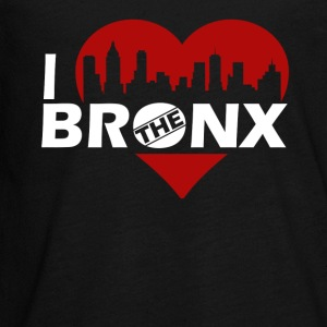 I Love The Bronx Shirt - Kids' Premium Long Sleeve T-Shirt