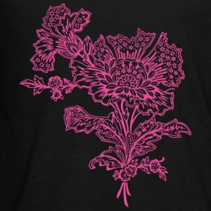 Pink flower - Kids' Premium Long Sleeve T-Shirt