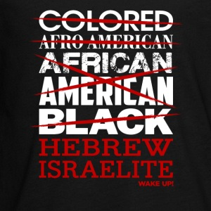 Hebrew Israelite I'm Not Colored African American - Kids' Premium Long Sleeve T-Shirt