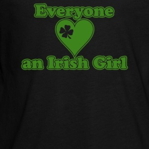 Everyone Loves An Irish Girl - Kids' Premium Long Sleeve T-Shirt