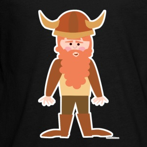 Cute Cartoon Viking - Kids' Premium Long Sleeve T-Shirt