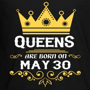 Queens are born on May 30 - Kids' Premium Long Sleeve T-Shirt