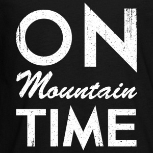 On Mountain Time - Kids' Premium Long Sleeve T-Shirt