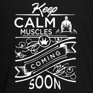 Muscles Coming Soon - Kids' Premium Long Sleeve T-Shirt