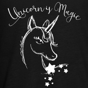 unicorn Drawing cute Animal magic Romantic Funny - Kids' Premium Long Sleeve T-Shirt