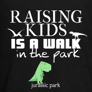 Raising kids is a walk in the park (Jurassic park) - Kids' Premium Long Sleeve T-Shirt