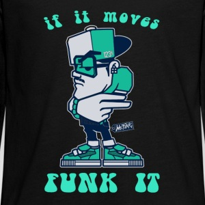 If it moves funk it - Kids' Premium Long Sleeve T-Shirt