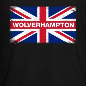Wolverhampton Shirt Vintage United Kingdom Flag - Kids' Premium Long Sleeve T-Shirt