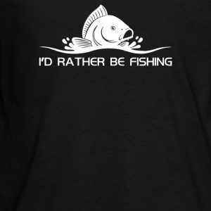 Id Rather Be Fishing - Kids' Premium Long Sleeve T-Shirt