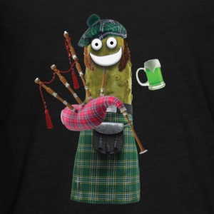 Bagpipe Pickle - Kids' Premium Long Sleeve T-Shirt
