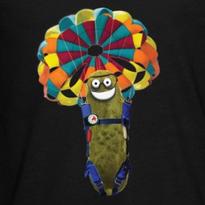 Parachute Pickle - Kids' Premium Long Sleeve T-Shirt