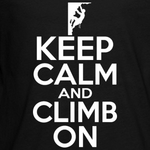 Keep Calm And Climb On - Kids' Premium Long Sleeve T-Shirt