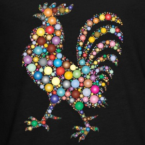 Colorful Rooster - Kids' Premium Long Sleeve T-Shirt