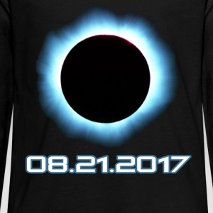 Total Solar Eclipse August 21 2017 T-Shirt - Kids' Premium Long Sleeve T-Shirt