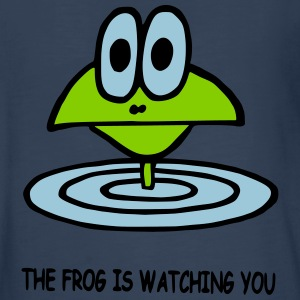 the frog is watching you - Kids' Premium Long Sleeve T-Shirt