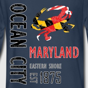 Ocean City Maryland Crab - Kids' Premium Long Sleeve T-Shirt