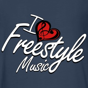 I love Freestyle Music - Kids' Premium Long Sleeve T-Shirt