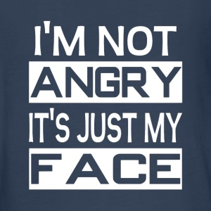 I'm Not Angry It's Just My Face - Kids' Premium Long Sleeve T-Shirt
