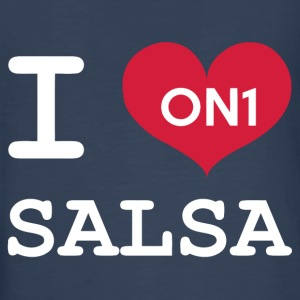 I Love Salsa On 1 - Kids' Premium Long Sleeve T-Shirt